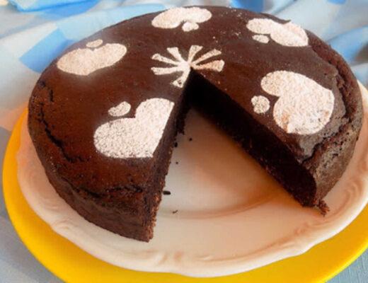 Ciasto czekoladowe fit