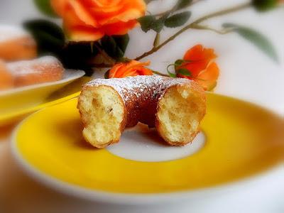 Pączki serowe