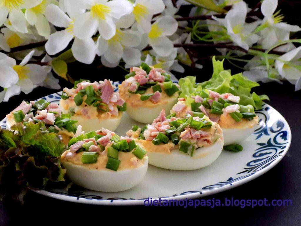 Jajka faszerowane na szybko