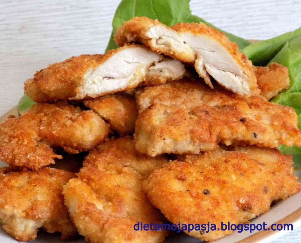 Przepis na sznycle z kurczaka