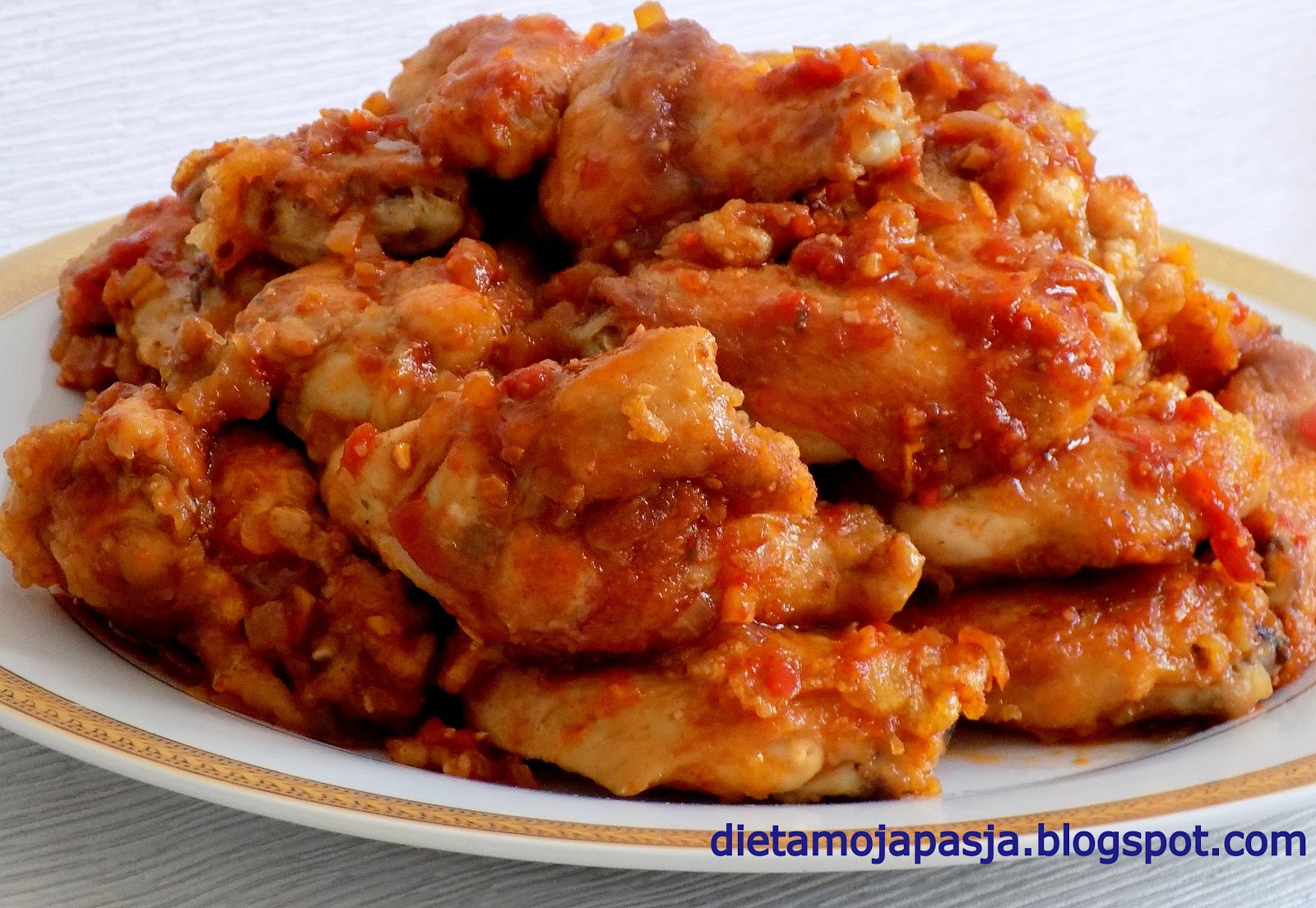 Kurczak jak od Chińczyka