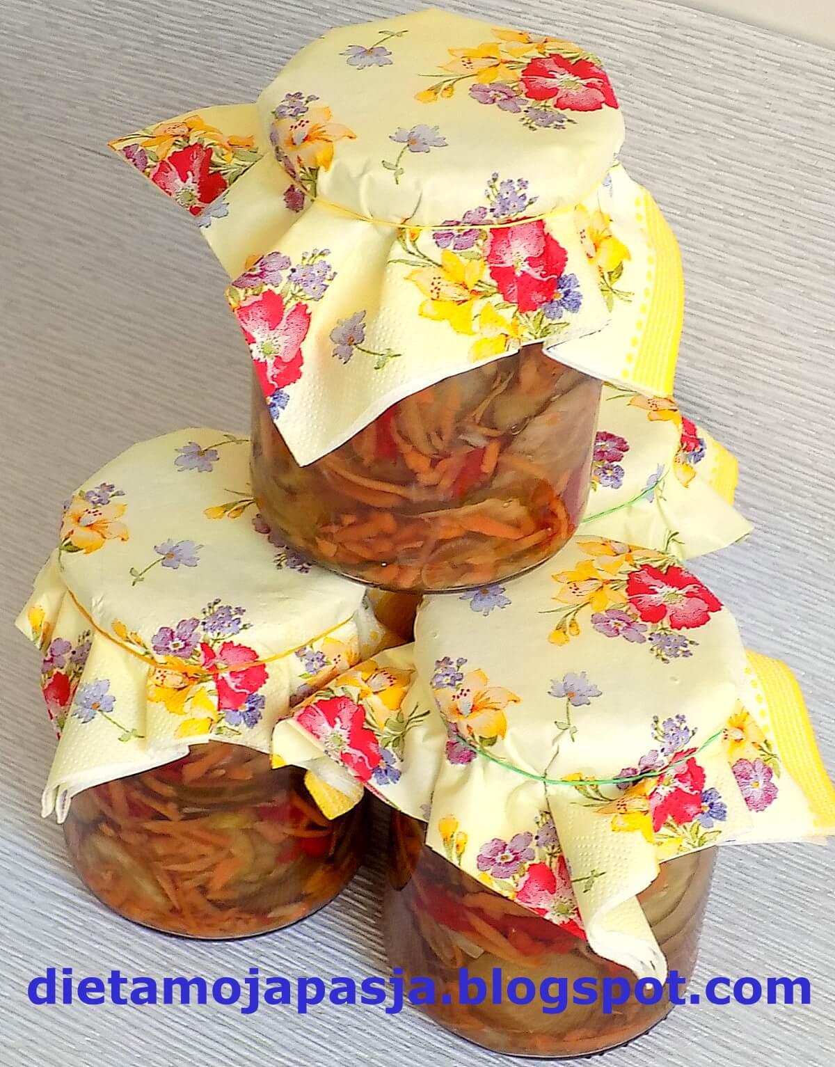 Sałatka z papryki i ogórków - moja ulubiona