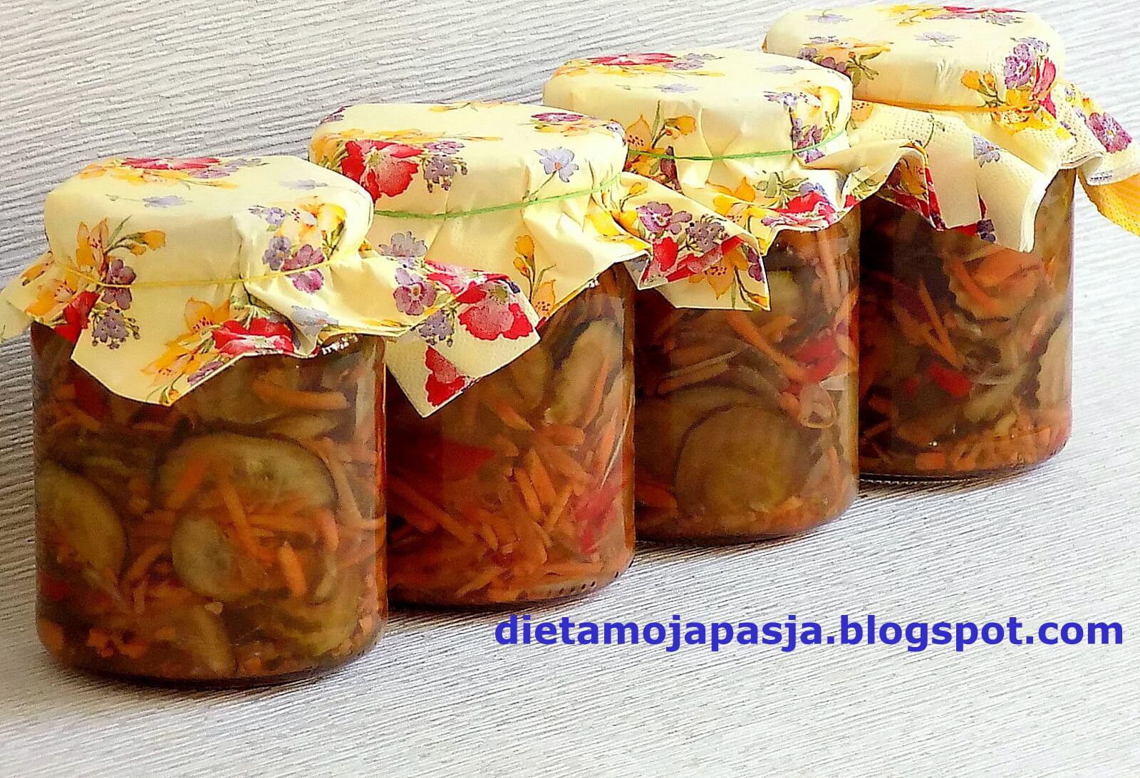 Sałatka z papryki i ogórków