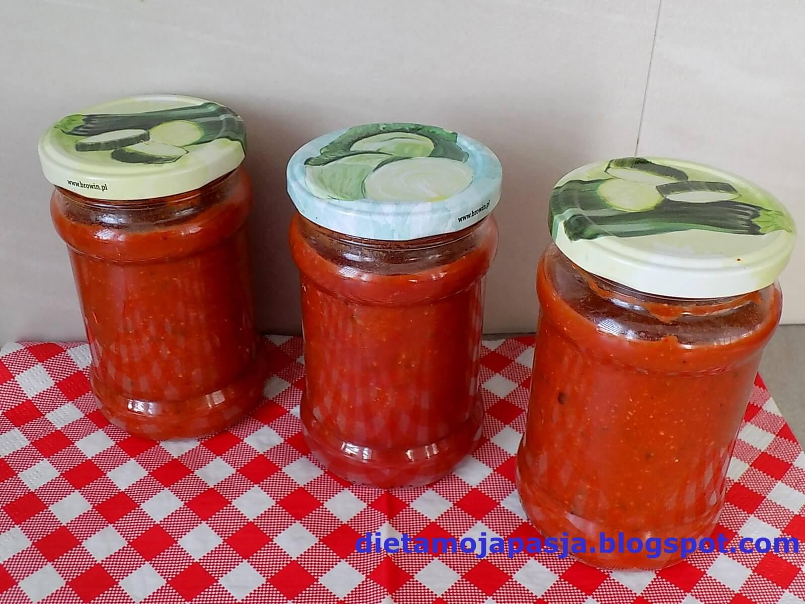 sos pomidorowy przepis