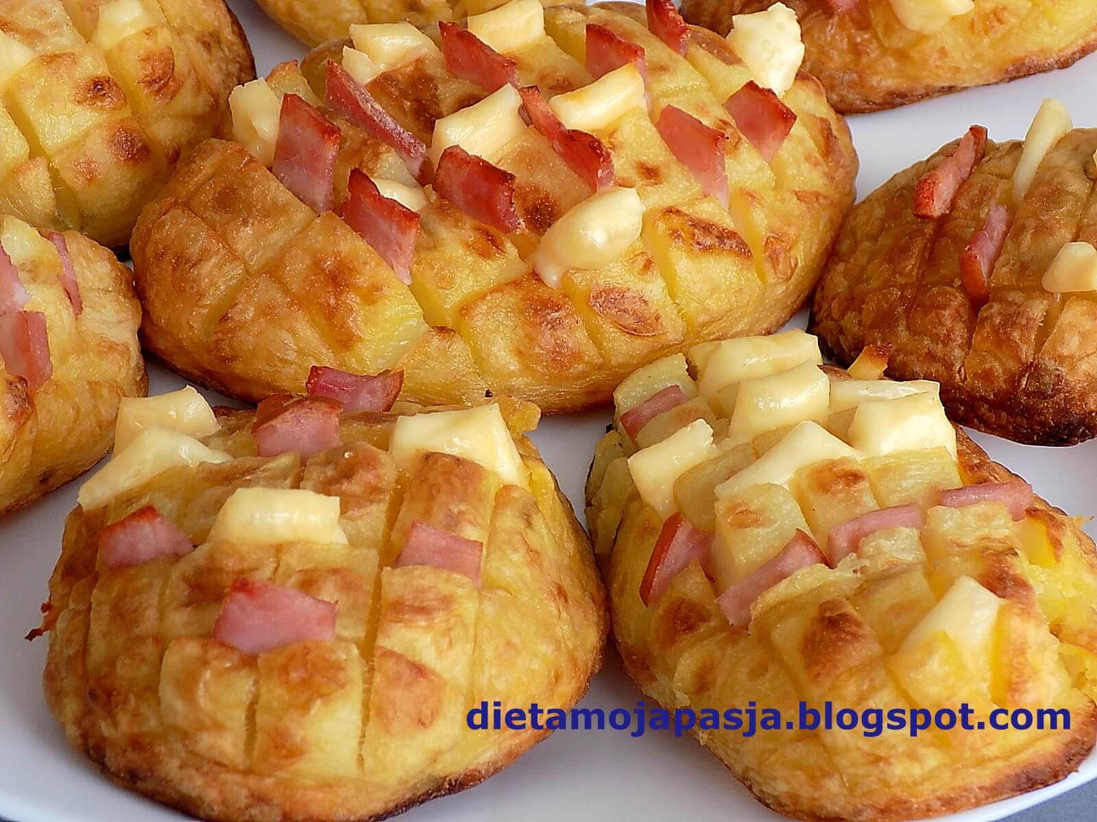 Pieczone ziemniaki - jeże