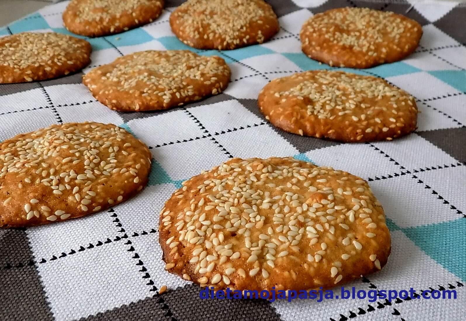 Kruche ciasteczka z sezamem w 20 minut