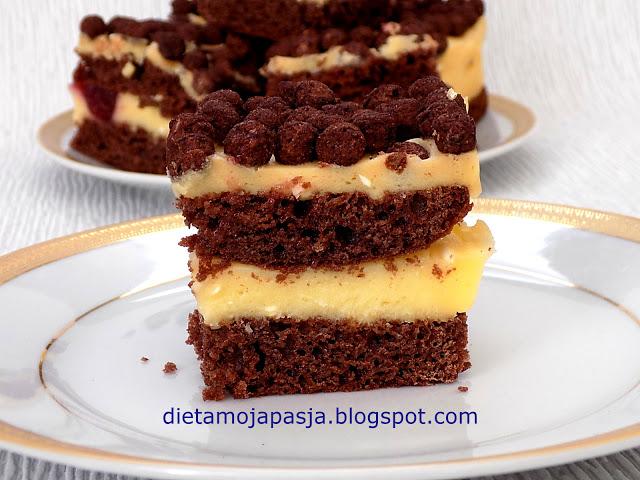 Ciasto kakaowo - budyniowy Nesquik