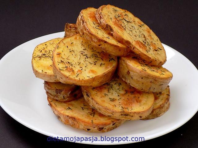 Ziemniaki talarki z piekarnika