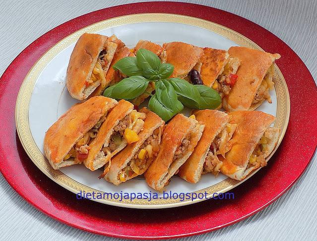 Trójkąty burrito - chrupiąca przekąska