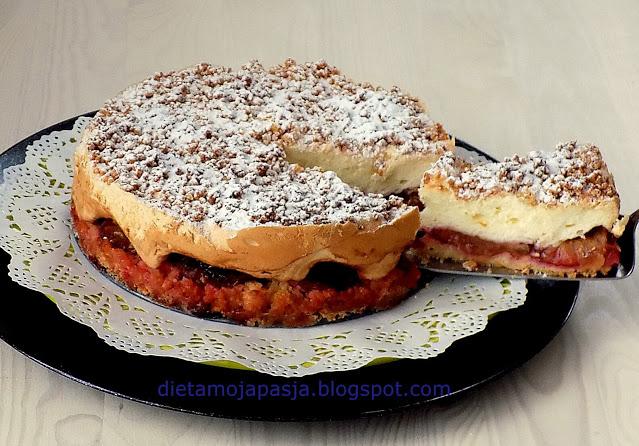 Ciasto ze śliwkami sypane