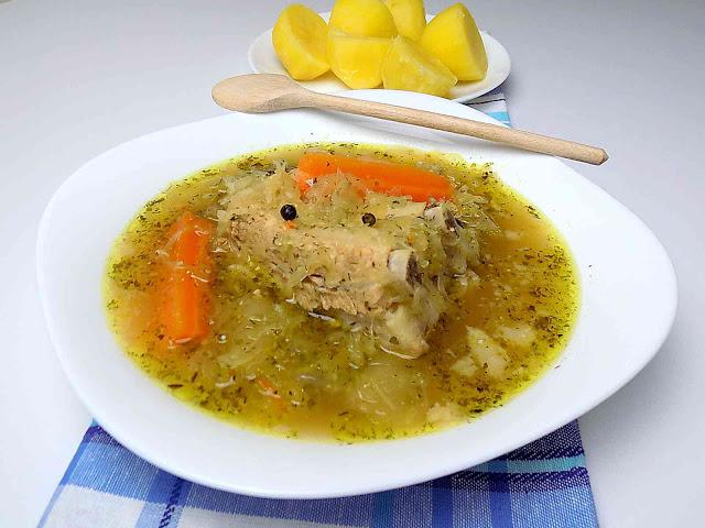 Kwaśnica zupa góralska