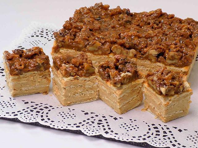 Ciasto z orzechami bez pieczenia