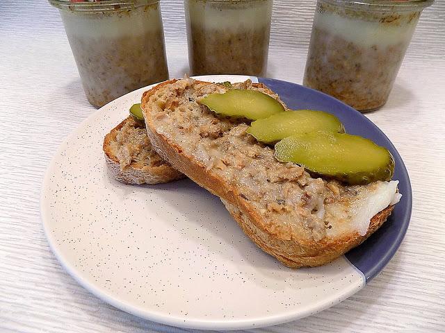 Domowa konserwa ze słoika na kanapki