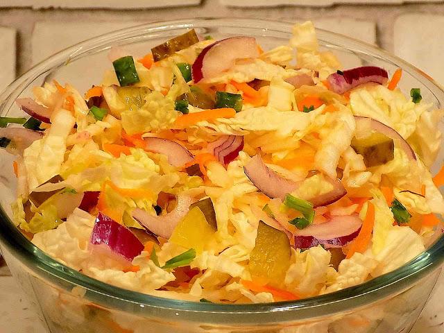 Surówka obiadowa w 15 minut