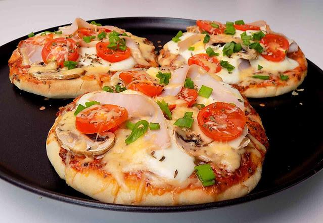 PIZZA na chlebku pita