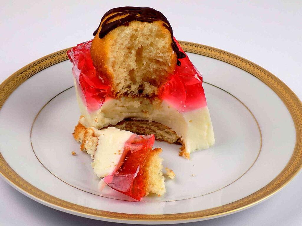 Ciasto budyniowe bez pieczenia.