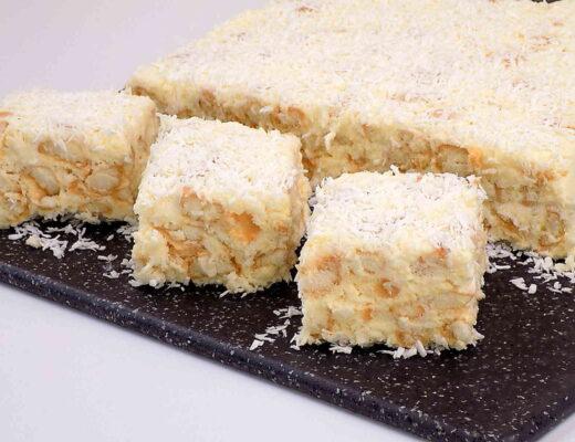 Ciasto biała trufla