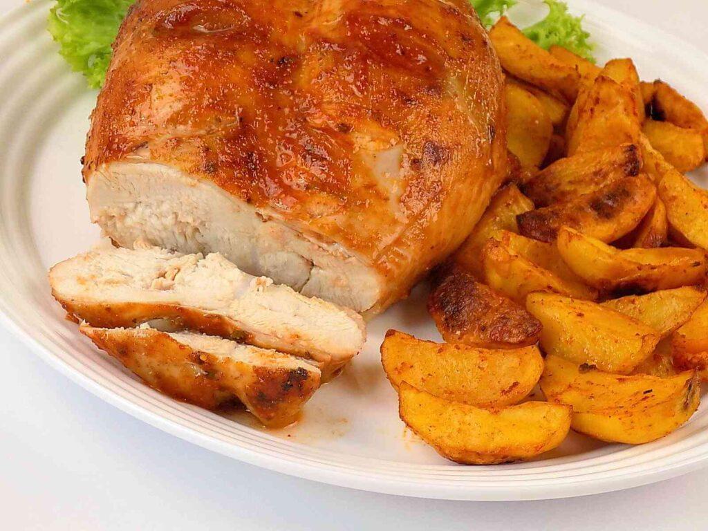 Pierś kurczaka z kością