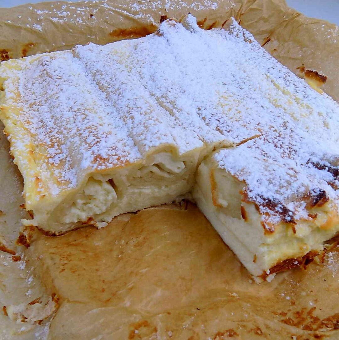 Naleśniki zapiekane z serem