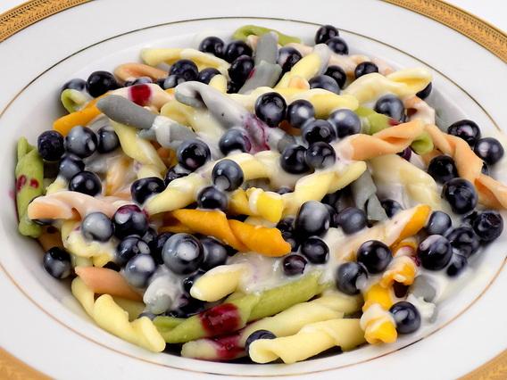 Mascarpone z jagodami