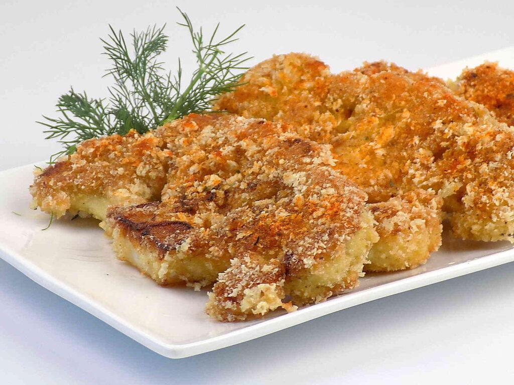 Kalafior gotowany smażony