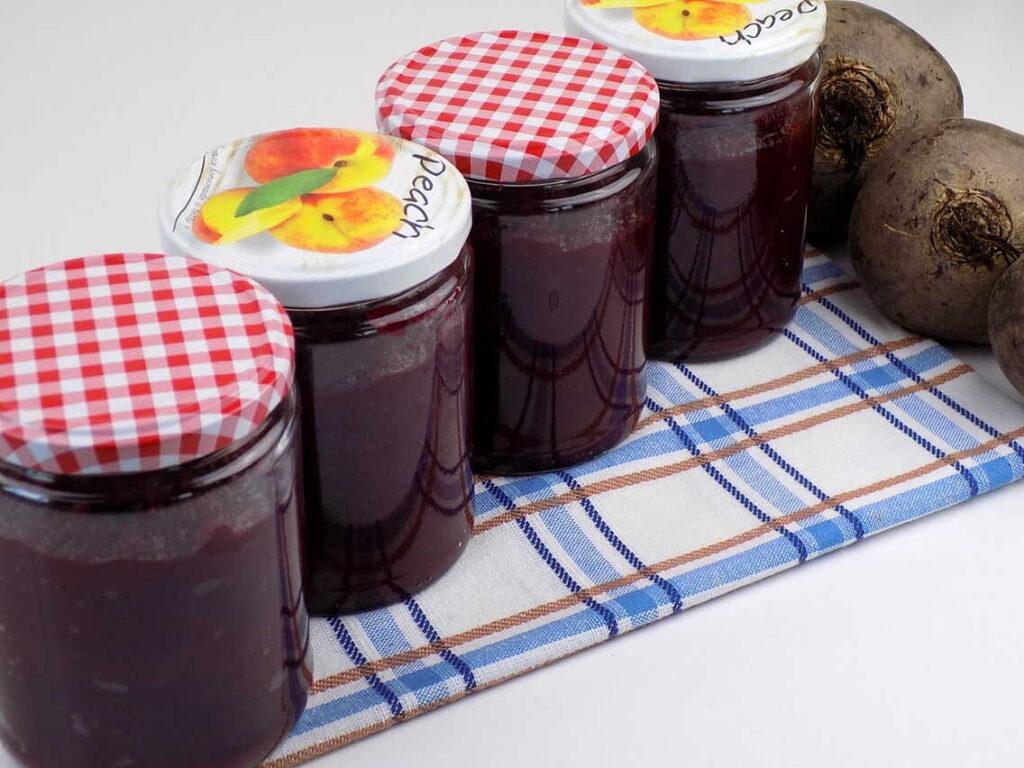 tarte buraczki z sokiem cytryny w słoikach - Przepis na buraczki do słoików