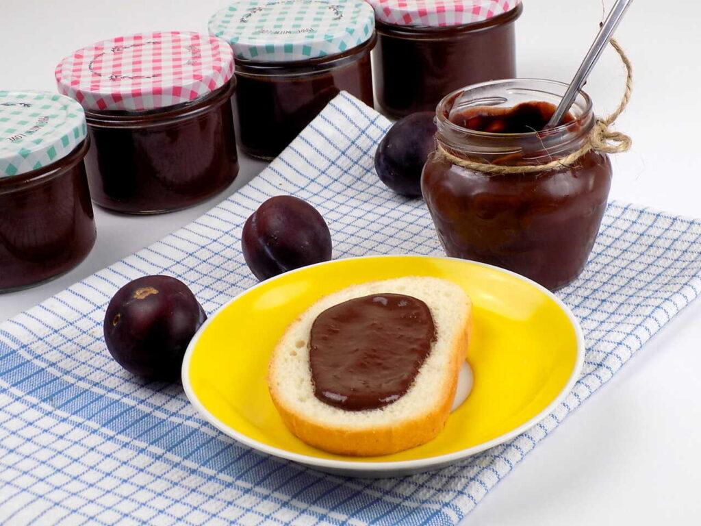 krem ze śliwek i czekolady - Nutella ze śliwek