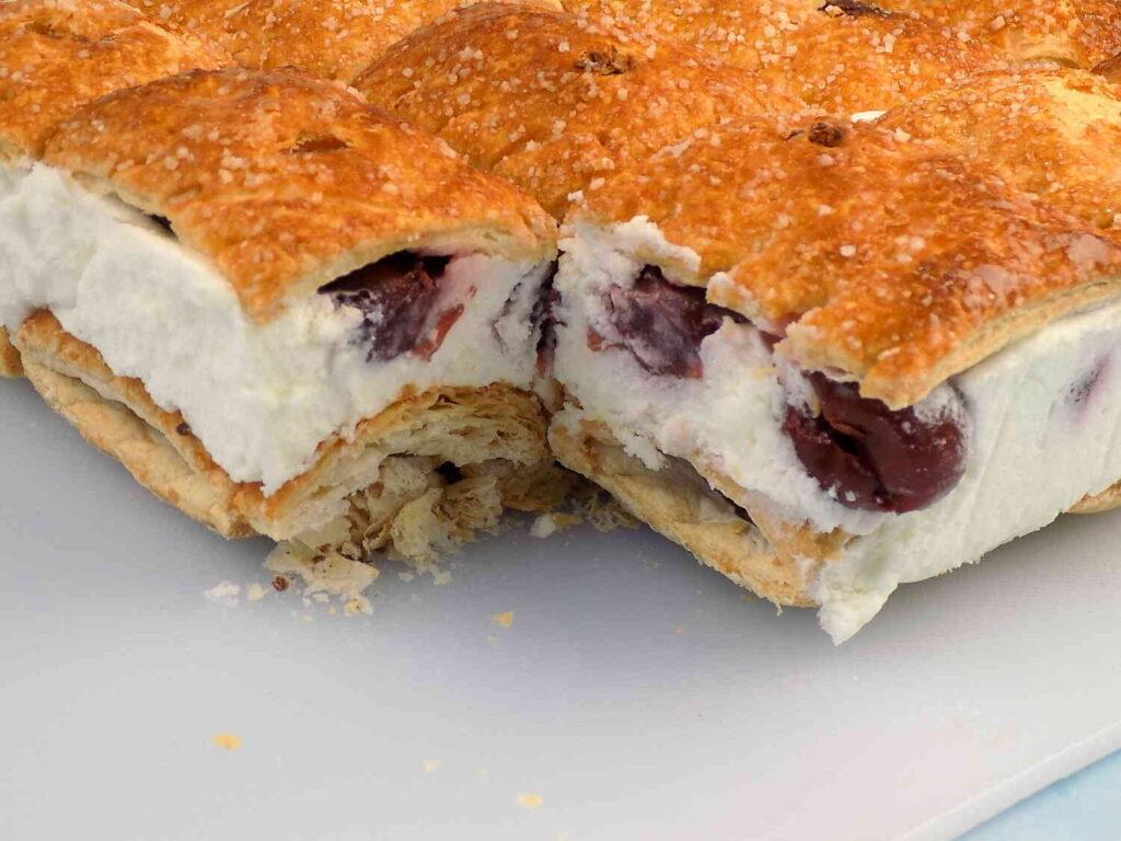 ciasto z mascarpone i wiśniami bez pieczenia Ciasto z mascarpone bez pieczenia