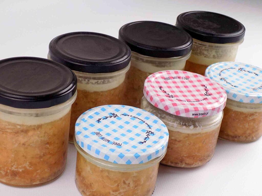 słoiki z mieloną wieprzowiną - Domowa mielonka w słoiku