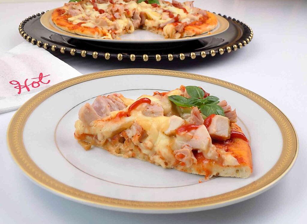 Pizza przepis z kurczakiem