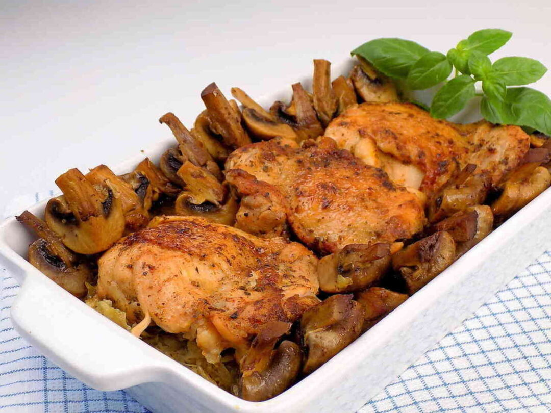 Udka kurczaka z piekarnika